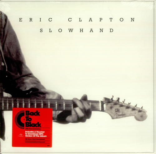 Eric Clapton Slow Hand vinyl LP album (LP record) UK CLPLPSL451048