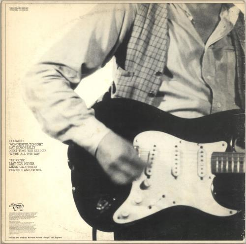 Eric Clapton Slowhand - Gatefold - EX vinyl LP album (LP record) UK CLPLPSL690106