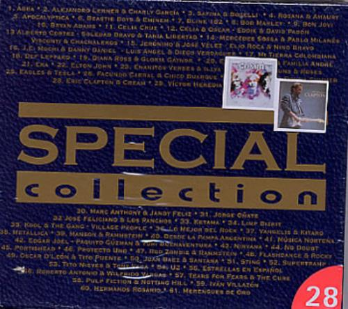 Eric Clapton Special Collection - Cream Of Clapton & Best Of Cream 2 CD album set (Double CD) Colombian CLP2CSP236094