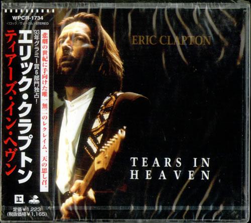 Eric Clapton Tears In Heaven Japanese Cd Single Cd5 5
