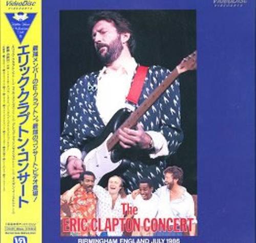 Eric Clapton The Eric Clapton Concert Video CD Japanese CLPVDTH166140