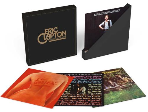 Eric Clapton The Live Album Collection 1970-1980 - Sealed Vinyl Box Set UK CLPVXTH755055