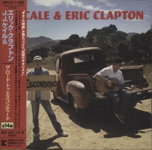 Eric Clapton The Road To Escondido CD album (CDLP) Japanese CLPCDTH691362