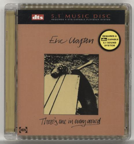 Eric Clapton There's One In Every Crowd DVD-Audio disc German CLPADTH703427