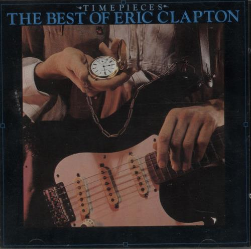 Eric Clapton Time Pieces CD album (CDLP) German CLPCDTI650472