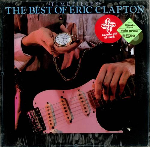 Eric Clapton Timepieces - The Best Of Eric Clapton vinyl LP album (LP record) US CLPLPTI439458