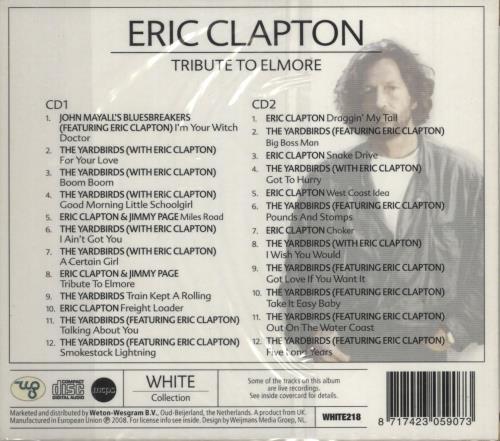 Eric Clapton Tribute To Elmore 2 CD album set (Double CD) Dutch CLP2CTR726461