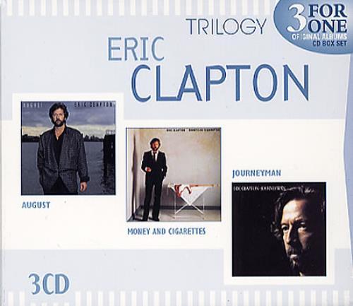 Eric Clapton Trilogy 3-CD album set (Triple CD) Australian CLP3CTR348524