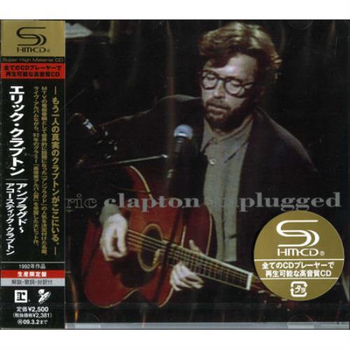Eric Clapton Unplugged Japanese Shm Cd 440219