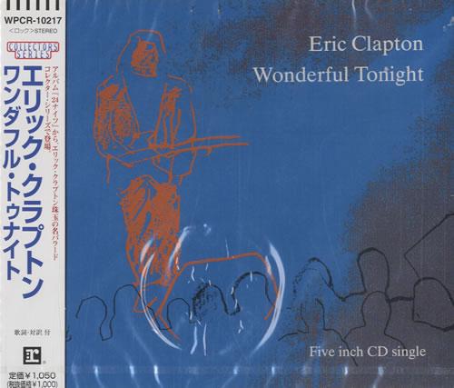 Wonderful Tonight Live Eric Clapton: Eric Clapton Wonderful Tonight Japanese CD Single (CD5 / 5