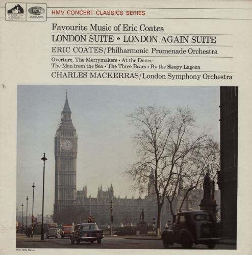 Eric Coates Favourite Music Of Eric Coates vinyl LP album (LP record) UK ES5LPFA761801