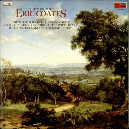 Eric Coates The Music Of Eric Coates 2-LP vinyl record set (Double Album) UK ES52LTH534674