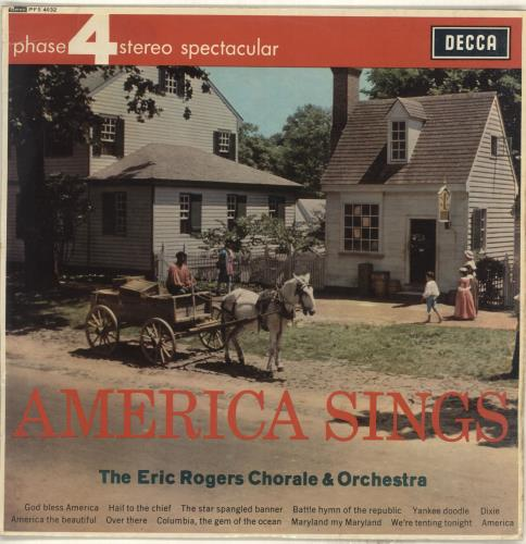 Eric Rogers America Sings vinyl LP album (LP record) UK IYRLPAM714470