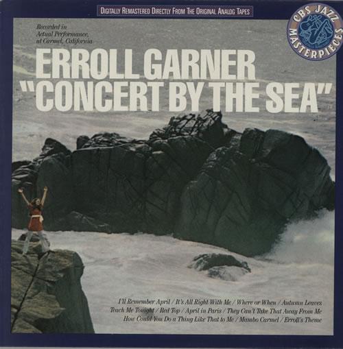 Erroll Garner Concert By The Sea vinyl LP album (LP record) Dutch EA7LPCO571493