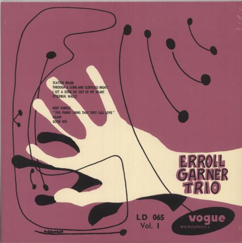 Erroll Garner Erroll Garner Trio Vol.1 - Pink Vinyl - Sealed vinyl LP album (LP record) French EA7LPER736512