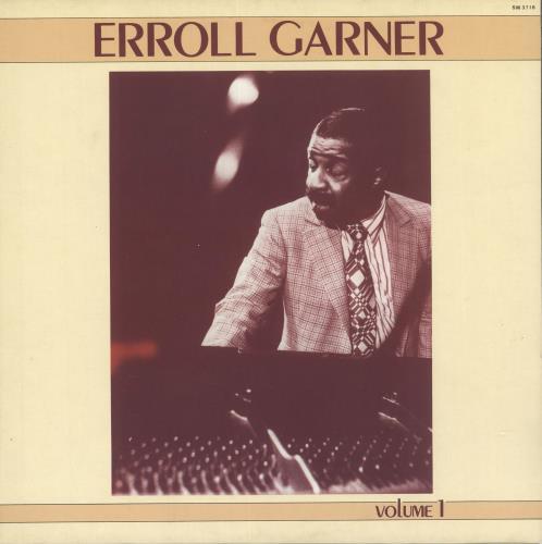 Erroll Garner Erroll Garner Volume 1 vinyl LP album (LP record) Italian EA7LPER723571