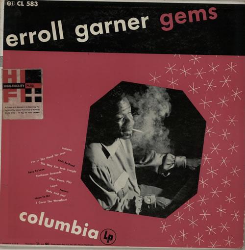 Erroll Garner Gems vinyl LP album (LP record) US EA7LPGE370017