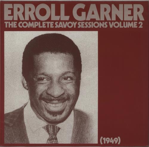 Erroll Garner The Complete Savoy Sessions Volume 2 (1949) vinyl LP album (LP record) German EA7LPTH672976