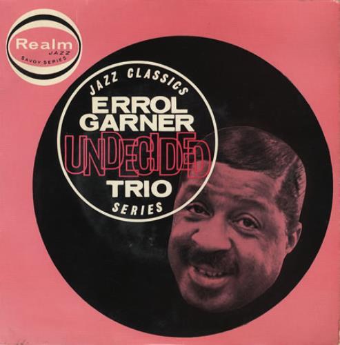 "Erroll Garner Undecided EP 7"" vinyl single (7 inch record) UK EA707UN366222"