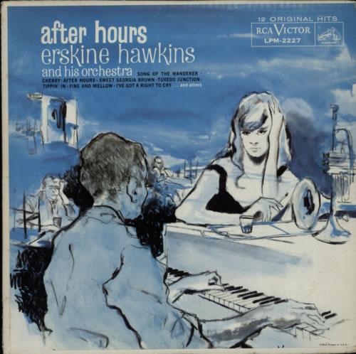 Erskine Hawkins After Hours vinyl LP album (LP record) US EHILPAF599555