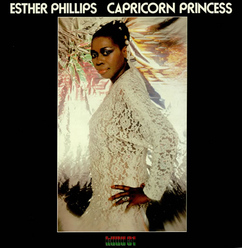 Esther Phillips Capricorn Princess vinyl LP album (LP record) UK EPILPCA457390