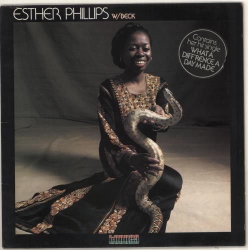 Esther Phillips W/Beck - Hype Stickered vinyl LP album (LP record) UK EPILPWB723042