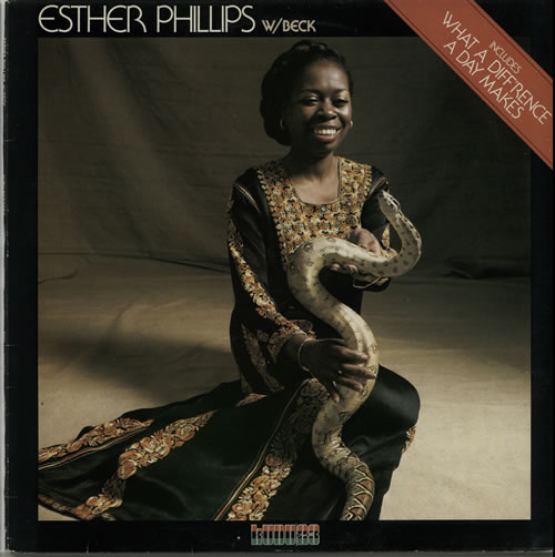 Esther Phillips What A Diff'rence A Day Makes vinyl LP album (LP record) US EPILPWH626778