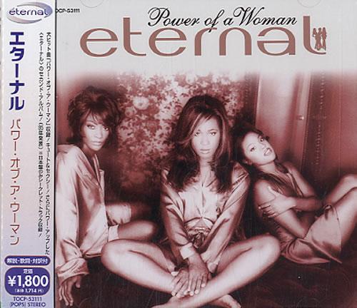 Eternal Power Of A Woman CD album (CDLP) Japanese ETECDPO608972