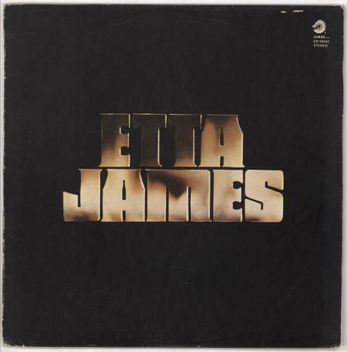 Etta James Etta James vinyl LP album (LP record) Italian ETTLPET721952