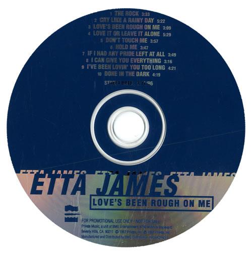 Etta James Love's Been Rough On Me CD album (CDLP) US ETTCDLO557223