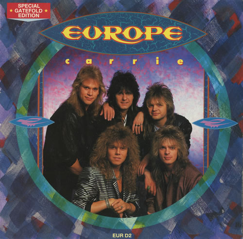 Europe Carrie Uk 7 Quot Vinyl Single 7 Inch Record 95265