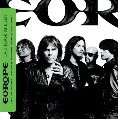 Europe Last Look At Eden - Mini Album CD album (CDLP) UK ERPCDLA479077