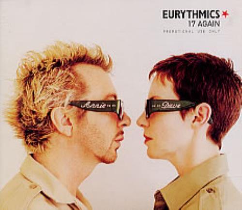 "Eurythmics 17 Again CD single (CD5 / 5"") UK EURC5AG148877"