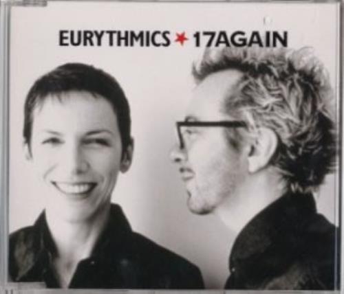 """Eurythmics 17 Again CD single (CD5 / 5"""") Japanese EURC5AG148898"""