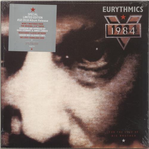 Eurythmics 1984 (For the Love of Big Brother) - RSD18 - Red Vinyl - Sealed vinyl LP album (LP record) UK EURLPFO694856