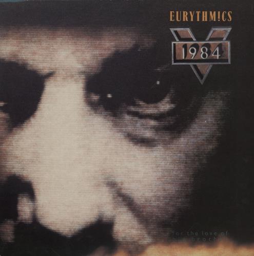 Eurythmics 1984 (For The Love Of Big Brother) vinyl LP album (LP record) UK EURLPFO289338