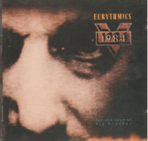 Eurythmics 1984 (For The Love Of Big Brother) CD album (CDLP) UK EURCDFO639184