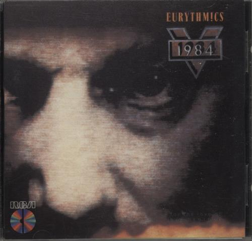Eurythmics 1984 (For The Love Of Big Brother) CD album (CDLP) US EURCDFO669765