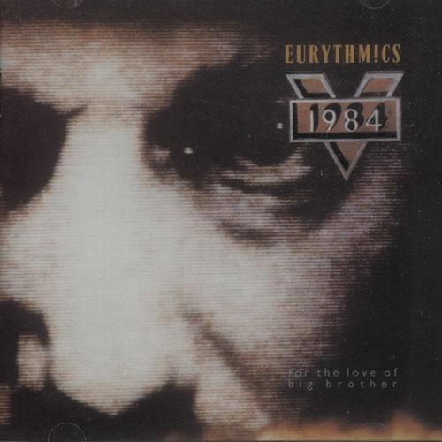 Eurythmics 1984 [For The Love Of Big Brother] CD album (CDLP) UK EURCDFO227738