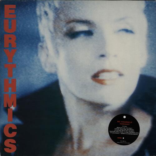 Eurythmics Be Yourself Tonight vinyl LP album (LP record) Italian EURLPBE316400