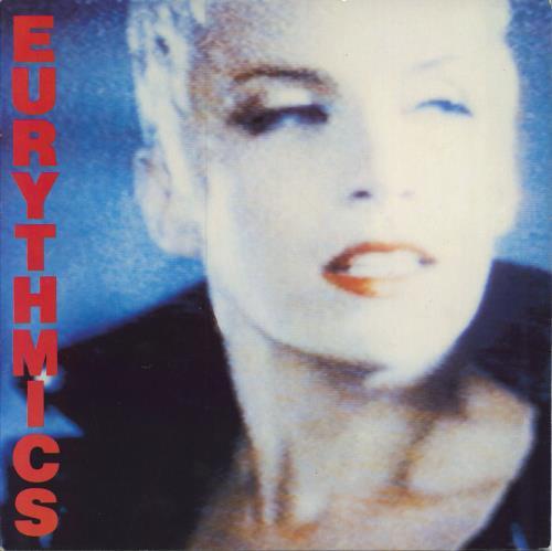 Eurythmics Be Yourself Tonight vinyl LP album (LP record) German EURLPBE377124