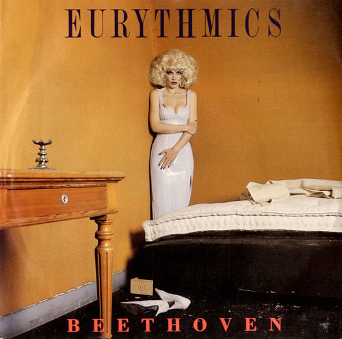 "Eurythmics Beethoven [I Love To Listen To] 7"" vinyl single (7 inch record) UK EUR07BE103831"