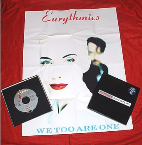 "Eurythmics Don't Ask Me Why - Box + Poster CD single (CD5 / 5"") UK EURC5DO24903"