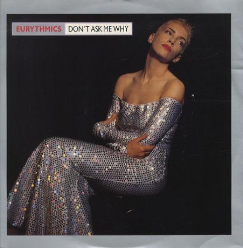"Eurythmics Don't Ask Me Why 12"" vinyl single (12 inch record / Maxi-single) UK EUR12DO41371"