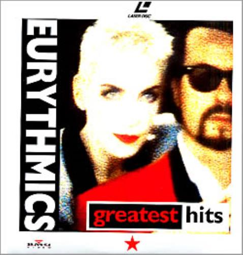 Eurythmics Greatest Hits laserdisc / lazerdisc German EURLZGR263566