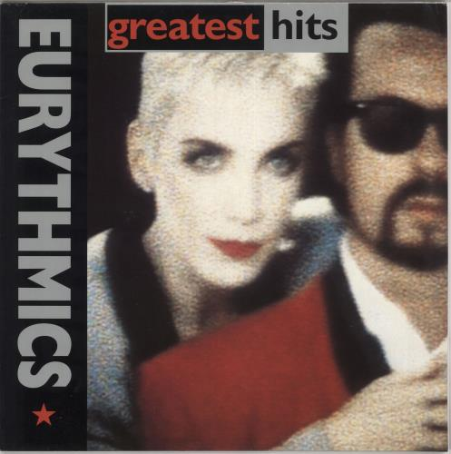 Eurythmics Greatest Hits vinyl LP album (LP record) German EURLPGR729680