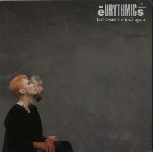 "Eurythmics Here Comes The Rain Again 12"" vinyl single (12 inch record / Maxi-single) UK EUR12HE05771"