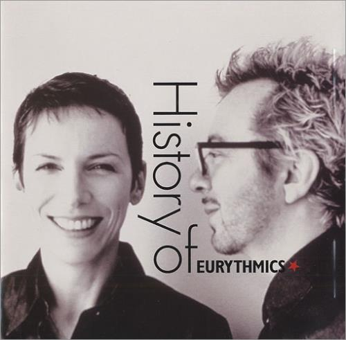 Eurythmics History Of Eurythmics CD album (CDLP) Japanese EURCDHI153229