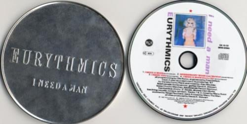 """Eurythmics I Need A Man - Tin CD single (CD5 / 5"""") UK EURC5IN04742"""