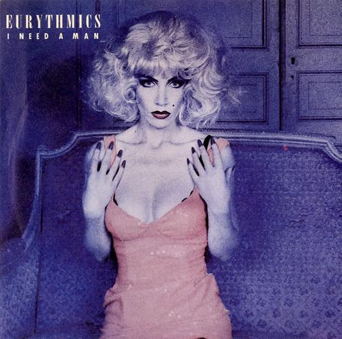 "Eurythmics I Need A Man 7"" vinyl single (7 inch record) UK EUR07IN195592"